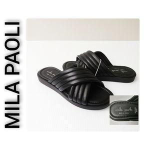 Mila Paoli NWT Sandals Black Size 6.5